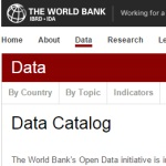 The World Bank: Open Data Catalog