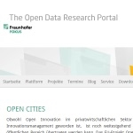 Fraunhofer Open Data Research Portal