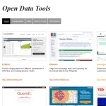 Open Data Tools - Data