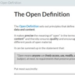 The Open Definition